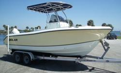 2003 POLAR 2100CC, with Johnson 140hp 4 stroke and only 39 verified hours!!!This boat is in immaculate condition inside and out as you would expect with only 39 hours use. It has just had a complete service by a Johnson/Suzuki dealer, is turn key, and