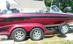 """2003 Ranger Reata fish and Ski with Mercury 225 optimax, 21' 4"""" . Everything on the boat is in perfect working condition. It has the optional rear built in bench seat and front extended fishing platform. Sea star Hydraulic steering. Rod storage is in the"""