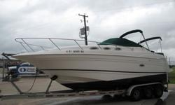 ,,,,,The REGAL 2765 has the sleek good looks and high-caliber performance you'd expect from a much larger, much more expensive cruiser. It's packed with creature comforts inside and out. 2003 Regal 2765 Commodore with Twin Volvo Penta Engines The Cabin is
