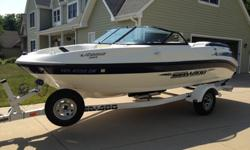 A very well maintained 20 foot 2003 SeaDoo Utopia 205. Always stored off the water, inside in our garage. The boat is in above average condition and turn key ready to hit the water. Several upgrades including a new radio with both bluetooth and auxiliary