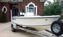 2003 Seafox 17' Center Console with 115 HP Mercury .Very low hours. Used by owner as a secondary boat. Excellent condition. If you like to fish and get to your spot quickly, this is the rocket ship to do it in. This 50 mph boat has all all the amenities: