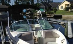 2003 Sea ray 176 inboard bowrider. 17.5 ft. Good running condition. Recent service. Title in hand. Does NOT come with a trailer nor do I have one for transport. Several boat ramps are within a few mile radius. Currently kept on a non-covered lift in the