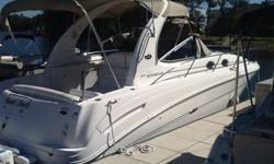 2003 Sea Ray 300 Sundancer w/Twin MerCruiser 5.0 MPI 260 HP. No trailer. FUEL TYPE: . . . . . . . . . . . . . . . . . . . . . . . . . . . . . . . . . . Gasoline FUEL CAPACITY: . . . . . . . . . . . . . . . . . . . . . . . . . . . . . . ***** 170 gallons