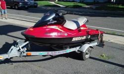 2003 SEADOO RXDI 951CC , 130HP . ONLY HAS 55HRS ON IT SOLD WITH TRAILER, COVER, MUSHROOM ANCHOR. ALL IT NEEDS IS A BATTERY .. WILL START AND RUN BEFORE PURCHASE $6000 OR BRO PLEASE RESPOND WITH PHONE NUMBER I WILL NOT ANSWER TO AN E-MAIL ADRESS SERIOUS
