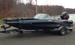 Cant Keep my LOW HOUR 2003 Triton Boats 190 FS , Barely Used. This Triton 190 fs outboard sportsfisherman has a fiberglass hull, is 19.08 feet long and 95 inches wide at the widest point. The boat weighs approximately 1650 pounds with an empty fuel tank
