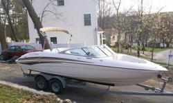 2003 Yamaha Jet Boat 10 person capacity (Coast Guard Limit) only 67.1 hours. I bought it new from the dealer in 2005. Twin 140hp inboards, always professionally maintained, shrink wrapped every winter, never been in salt water. Engines were tuned and