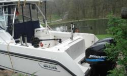 2004 Boston Whaler Conquest 275. Boat has been very well maintained and everything is in good working order. Some features include hardtop, full enclosure, 225 Mercs, SS props, full electronic pkg, vacu-flush head, new windlass, chain, rope and stainless