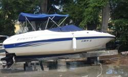 ,,,21' Bow Rider with all accessories including: GPS, 8 jackets, skis, inner tube, swim platform, 2 Bimini tops. Very good condition and less than 150 hours. Recently serviced.Model: Campione 210Engine Type:Single Inboard/OutboardType:Bow Rider Engine