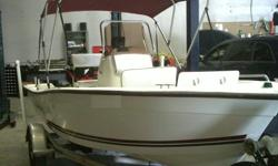 2004 CAPE CRAFT SPORTFISHING BOAT, 16 CC LENGTH 16' 2004 75 HORSE POWER MERCURY OUTBOARD, 717 LOWRANCE SOUNDER AND GPS COMBO, STAINLESS STEEL PROP, MATCHING NEW BIMINI TOP. BOAT WEIGHT NET IS 1160 PLUS MOTOR AND TRAILER.THIS IS A GREAT FISHING BOAT AND