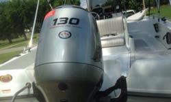 2004 center console triumph 190 bay boat. 19ft long 8ft wide. front fishing seat, 60gt baitwell, 39 gal. fuel tank, galvanized single axle trailer, 6 passenger. 2005 motor guide brute 50 wireless 12 volt trolling motor. 130 hp Honda 4 stroke outboard