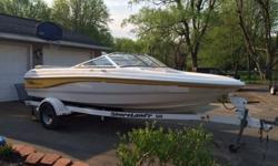 ?2004 chaparral 180 SSI 3 L Mercury engine 135 hp I/O Bow Rider runabouts 106 hours of use excellent shape. Modified vee hull. New bellows gimbal bearing and water pump in 2014. with Shorelander trailER Electrical Systems Accessory Panels;Battery ON/OFF