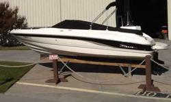 2004 Chaparral 210 SSI w/ 5.0 L Mercruiser. No trailer. Boat is great shape as it has been stored in drystack at Lighthouse Marina. Has 389 hours and options include: Bimini top, depth finder, Stereo, snap-in carpet, bow and cockpit covers. Please call