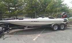 ,,,,,,,...BOAT HAS THE FOLLOWING OPTIONS: BOAT COVER,DEPTH SOUNDER,FISH FINDER, STEREO,STORAGE TACKLE CENTER, SNAP IN OUT CARPET, FUEL INJECTION, STAINLESS PROPELLER, 2004 TANDEM 22 FOOT TRAILER, DISC BRAKES, CHROME FENDERS,SPARE TIRE AND CARRIER, 24 VOLT