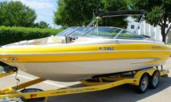 ,,,,,,,,,,,,2004 GLASTRON GX 235 BOWRIDER2004 TANDEM AXLE TRAILERNO RESERVEMARINE INSPECTED AND LAKE TESTEDBOAT IS IN GREAT OVERALL CONDITIONNEW TIRESNEW PLUGSOUTDRIVE SERVICEDENGINE SERVICEDCOMPRESSION IS EXCELLENT AT 165-170 PSI ACROSS ALL CYLINDERSBOAT