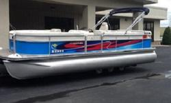 Top speed for the Harris FloteBote 240 Super Sunliner is 25.8 mph (41.5 kph), burning 9.7 gallons per hour (gph) or 36.71 liters per hour (lph).Considering the years of experience, innovative technologies and a lifetime warranty on the hull, deck and