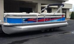 Depth Finder Freshwater Wash down Fore and Aft, Marine Head Porta Potti Burlwood S. Wheel w/Leather Wrap and Cover Rock the Boat Sound System, Captain's Call Thru-Hull Exhaust w/Silencer Tips and Control Two Bimini's, Rear Swim Platform, Trailer with Disc