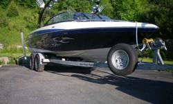 2004 Malibu Wakesetter 23 LSV .Indmar Malibu Vortec 8100 .425 horse power .This boat is a must see!!! Includes all of the options: Only 47.5 hours on boat! .Closed cooling system .Polished stainless turn down exhaust tips .Kicker 550 watt amplifier