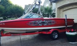 ,,,,,,,,,This is a garage kept 2004 Mastercraft X-9 Its a real eye catcher. Has some fading in the colored stiching in the seats always garage kept. 300 hours. Built in ballast tanks front and rear. Perfect pass cruise control for perfect ski/ wakeboard