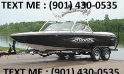 It has 350 hrs of adult use and is powered by a Indmar 5.7 EFI engine and direct drive with CNC 3 blade prop. It also has a Clarion marine stereo, with a Kicker amplifier that drives Polk marine cabin speakers. The price includes a matching single axle