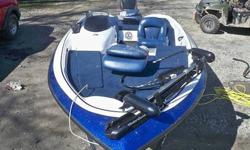 2004 Nitro Bass Boat w/ 2005 50 HP Mercury MotorThis auction is for 2004 Nitro Bass Boat 640 LX, Nitro trailer, and 50 HP Mercury Engine. The boat is 16.5 ft long with a 7 ft beam and has had less than a tank of gas of use! It comes equipped with a