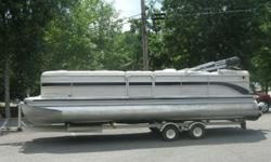 Below Book Value!!!! This boat has a 4.3 Mercruiser 190hp v-6, Bi-toon w/ lifting strakes, Duo prop with Stainless steel props, full instrumentation, changing room, am/fm cd player, tilt wheel, ski tow bar, docking lights, extended deck, lounge seating,