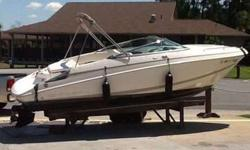 2004 Regal 2250 LSC w/ Mercruiser 350 Mag. No Trailer. Boat has 303 hours and is in very good condition as it has been stored in drystack at Lighthouse Marina. Options include: Bimini top, cockpit cover, depth finder, fresh water system, sink, battery