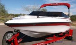 Boat House is pleased to bring you this 2004 Reinell 191 LSE This boat is outfitted with a 220 Horsepower 5.0 motor mated to a Mercruiser Drive featuring a 5-Blade prop. This boat has been through a detailed service and inspection and is ready to go! This