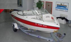 YOU ARE VIEWING A SUPER CLEAN, FRESHWATER RUN, 2004 STINGRAY 195LR BOWRIDER BOAT AND TRAILER PACKAGE. NO BOTTOM PAINT ON THIS BEAUTY. THIS 19FT 5 INCH BOWRIDER IS POWERED BY A VOLVO-PENTA 4.3L GL, 190HP INBOARD OUTBOARD WITH POWER TILT AND TRIM WITH ONLY