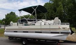 THIS IS A 20 FT BOAT WITH A 8? BEAM. THE ENGINE IS AN OUTBOARD MERCURY 4 STROKE RATED AT 50 HP. THIS IS A 2011 MOTOR!!!!! THERE IS NOT AN HOUR METER ON THIS BOAT. AM/FM/CD.TROLLY MOTOR: RIPTIDE 80 THRUST.FISH FINDER.LIVE WELL.CHANGING STATION.BIMINI