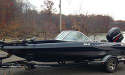 ,,,,,,2004 Triton 190 FS (only 80 hours)The boat weighs approximately 1650 pounds with an empty fuel tank and without any gear or passengers.The maximum horsepower is 200 hp.This Ski'n Fish model has been built for comfort, maneuverability and low