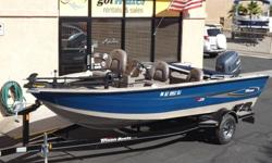 http://www.gotwatermarine.com/Consignment_2004_Triton_Magnum_Bass_Boat_17.5.htmlGone Fishing... The Triton Magnum is ALL WELDED for strength, durability and performance! This Aluminum Bass Boat is the affordable way to get out on the water with all of the