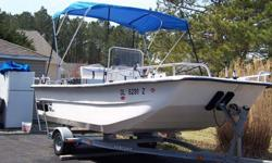 Type of Boat: Fishing BoatYear: 2005Make: CAROLINA SKIFF Model: 1780 DLXLength: 17Engine Model: 70hp Yamaha outboardInboard / Outboard (Boat): Single OutboardTotal Horse Power: 70Beam (Boat): 7.75Hull Material (Boat): FiberglassTrailer: yesStock Number: