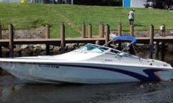 Type of Boat: Sport CruiserYear: 2005Make: VelocityModel: 260Length: 26Hours: 372Fuel Type: GasEngine Model: 375 hp 496 Magnum# of slide-outs: NoneSleeps how many: 2Number of A/C Units: NoneAwnings: NoneMax Speed (Boat): 65Cruising Speed (Boat): 45Inboard