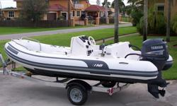 Year: 2005Trailer: Included Make: AB Inflatable BoatsUse: Fresh Water, Salt Water Model: Nautilus 15 Deluxe - RIBEngine Type: Single Outboard Type: RIB - Rigid Inflatable BoatEngine Make: 2005 Yamaha 4-Stroke Length (feet): 15Engine Model: 60 HP - 4