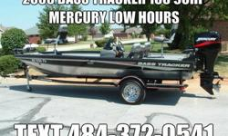 2005 Bass Tracker PT185 Aluminum boat equipped with a Mercury 90HP outboard motor and factory matching trailer. This is a 1 owner fresh water boat that has been on a lift in covered dock. The interior of the boat is in excellent condition front to