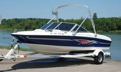 You are viewing a 2005 Bayliner 175XT Wake Series edition bowrider boat. This boat is in excellent condition and shows to have been EXTREMELY well maintained. Boat has always been garage kept.UNDER 100 HRS ! ! !45 MPH ! ! !EXCEPTIONAL CONDITION ! ! !
