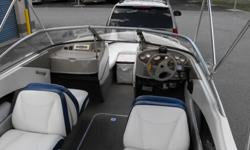 2005 BAYLINER 1953.0 135 H/P MERCRUISERALPHA 1 OUTDRIVE180 ORIGINAL HOURSSEQUENTIAL LIFT HULL & ULTRA LOW EMISSIONSGALVANIZED TRAILER INCLUDEDDEPTH / FISH FINDERSHIP TO SHORE RADIOBIMINI TOPSTEREO WITH AUX INPUT12V OUTLETDUAL BATTERIES WITH SWITCHFULL