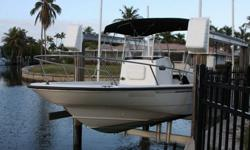 Here is a great boat in fantastic condition. Bottom painted, lift kept and used only a few dozen times in the past few years. Comes with a 2005 Mercury 225XL 4-Stroke Saltwater Series outboard 55 hours.. Runs smooth and quiet. I have the bow cushions in
