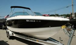 Very clean, 2005 Cobalt 250 26 foot bowrider for sale. This boat looks great inside and out. It is powered by a Volvo 8.1L GI, 496 cubic inch, big block, V8 motor with 375 horse power and the Famous Duo Prop outdrive and only 585 hours. It comes with a
