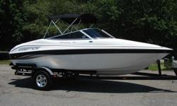Title: 2005 EBBTIDE 180 CAMPIONE 18FT SKI BOAT W/TRAILER Vehicle Information Hull ID Number: ETC00823E405 Condition: Used Features Type: Bowrider Engine type: Single inboard/outboard Use: -- Length (feet): 18.0 Engine make: Mercury Primary fuel type: Gas