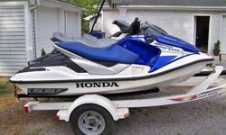 2006 Yamaha Waverunner FXHO. This 4 stroke PWC has 64hr. adult ridden / fresh water hours on it. This unit has never seen salt water. Also included with this package are 6 life vests - 3 adult / 3 youth A Seadoo brand pull behind raft and a Connelly brand