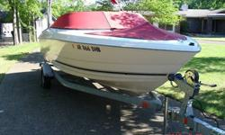 Very clean 2005 Monterey Model 180 18 ft. boat with 4.3L V-6 MerCruiser Engine boat includes trailer: Karavan Single Axle Vin #5KTBS19146F209522 with folding tounge. Boat and Motor have 113.2 hours on it. The boat was winterized this past year and will