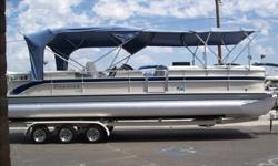 2005 Premier Boundary Waters 310, We have a pre-owned Premier 310 Boundary waters RE with a mercruiser 5.7 350 MAG 300hp, bravo 3 counter rotating prop with Only 193 Hours!! This boat has composite deck, king helm seat, swim platform with heavy duty