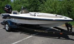Beautiful Ranger 175VS powered by a massive Mercury Optimax 115 horsepower outboard. Everyone knows that Ranger builds the best Bass boats in the world and when rigged with a Mercury optimax, fish don't stand a chance. The 175VS was designed for faster,