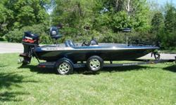 2005 RANGER VS185 BASS BOAT WITH MATCHING TRAILERSUMMER IS JUST AROUND THE CORNER AND WITH HIGHS IN THE MID 80'S IT IS TIME TO GO FISHING! DON'T WASTE YOUR SUMMER DOING NOTHING. THIS IS AN UNFORTUNATE LENDER RECOVERED BOAT WITH MATCHING TRAILER AND OUT