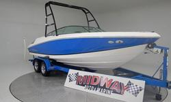 We love Regal boats, very high quality and a great layout with the walk through entrance. Fuel Injected V8 and lots of room in this 22 footer!Comes with warranty. Ask about FREE delivery. Add a tower for only $1800.We have the largest selection of very