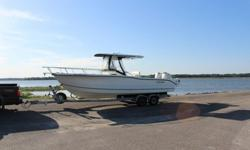 2005 Sea Boss 25' Center Console Twin outboards 2 axle trailer VERY NICEA very clean Sea Boss 255CC Center Console Walk Around. Twin Johnson 150 Salt Water Edition outboards. 360 total hours on motors. Boat has all the standard equipment including deck