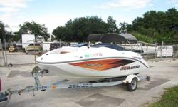 ''''2005 Sea Doo 180Boat is in good condition, motor and drive are in very good condition. Motor is a 215hp Rotax with jet driveBoat only has 81hrs and was adult owned. Majority of the hours were under 3500rpmMotor fires up and runs great a true water