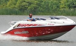 You are viewing a SUPER MINT 2005 Sea Doo 200 Speedster edition jet boat. This one owner boat is in excellent condition, and shows to have been very well maintained. Boat has been kept under covered storage. ONLY 90 HRS ! ! ! 55 MPH ! ! ! EXCEPTIONAL