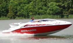 SUPER MINT 2005 Sea Doo 200 Speedster edition jet boat. This one owner boat is in excellent condition, and shows to have been very well maintained. Boat has been kept under covered storage. ONLY 90 HRS ! ! ! 55 MPH ! ! ! EXCEPTIONAL CONDITION ! ! !
